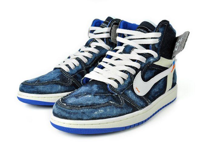 akalazy lazything lazy off white jordan 1 custom sneaker