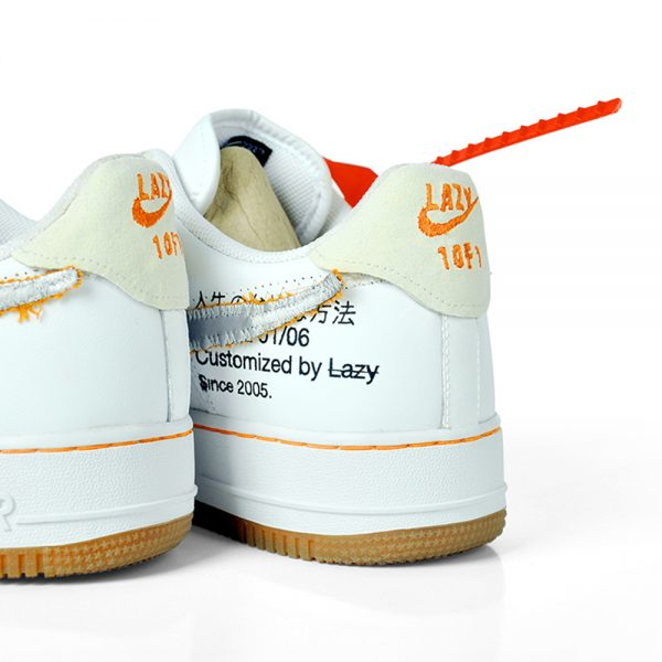 akalazy lazything off-white custom sneakers