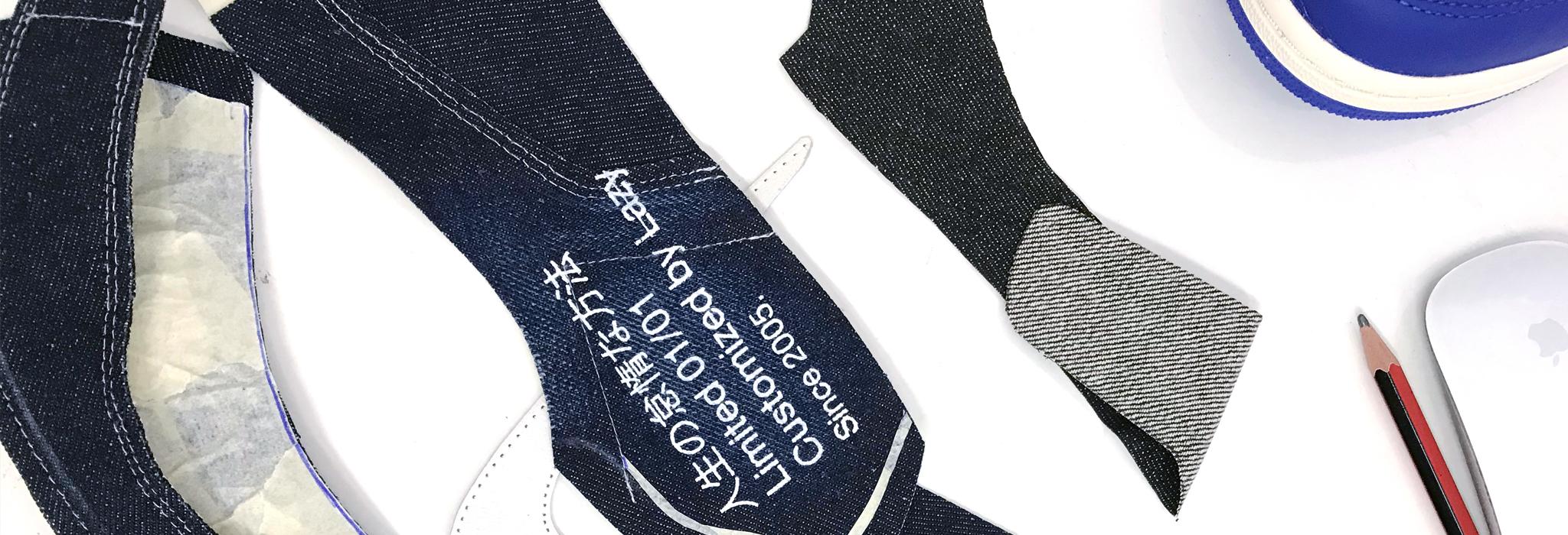 akalazy lazything custom sneaker