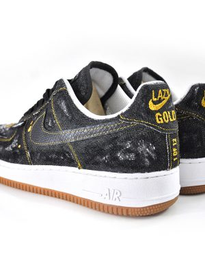 Gold Rush Black Air Force 1