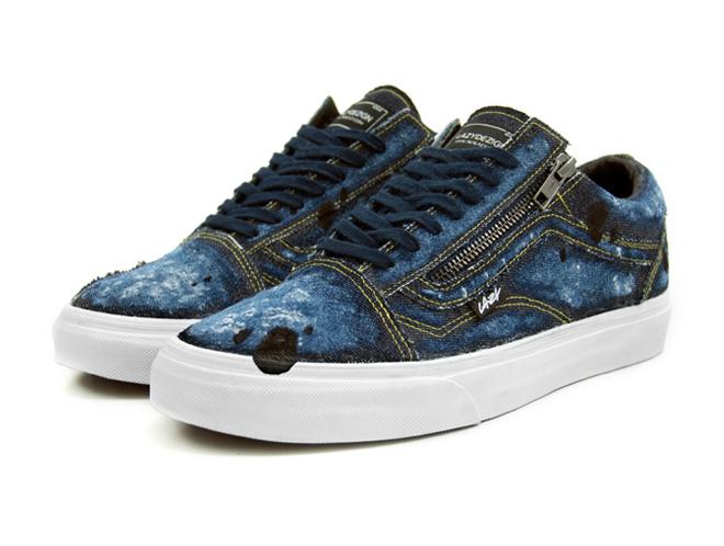 akalazy lazything vans old skool custom sneaker